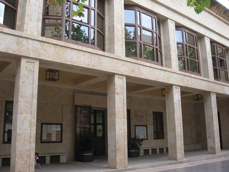 Fachada Ayuntamiento Aspe